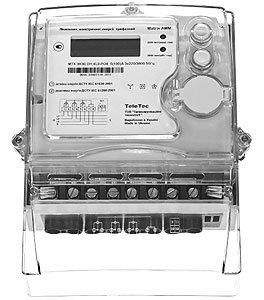 Трехфазный многотарифный счетчик с GSM модулем